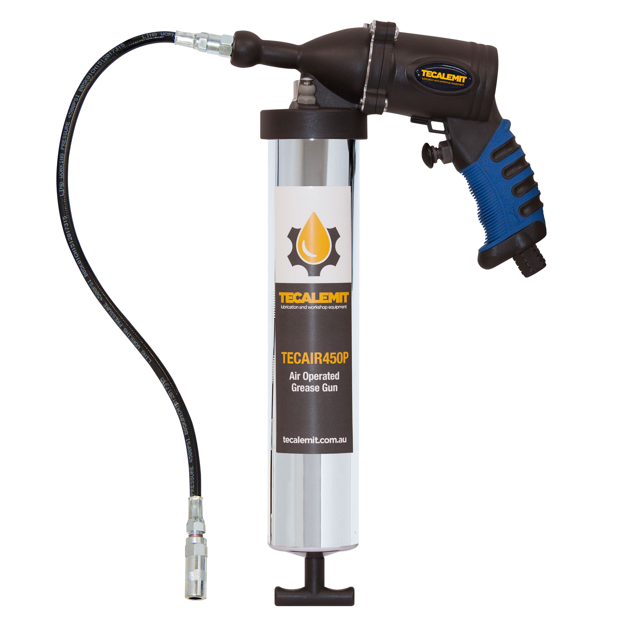 TECAIR450P - Air Operated Grease Gun