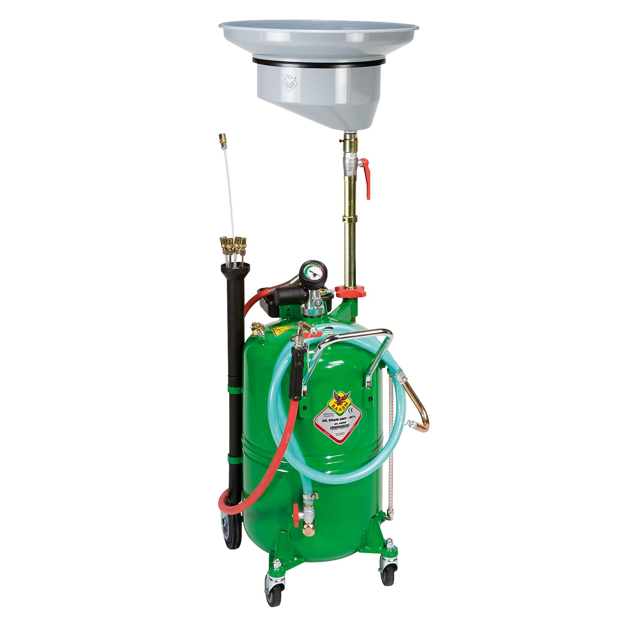 44090 - 90L Mobile Combination Oil Evacuator/Drainer