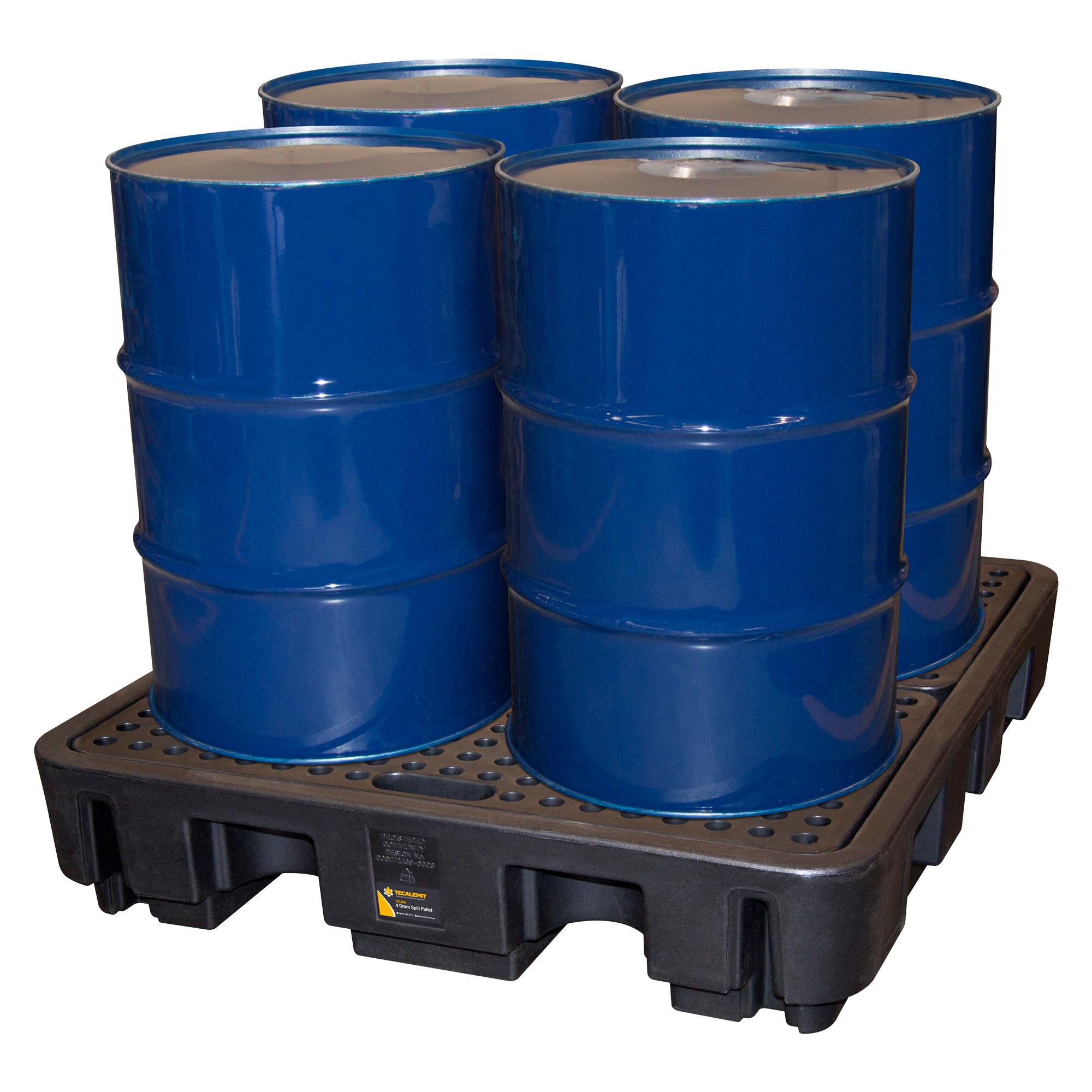 TEC4DB - Four Drum Spill Pallet