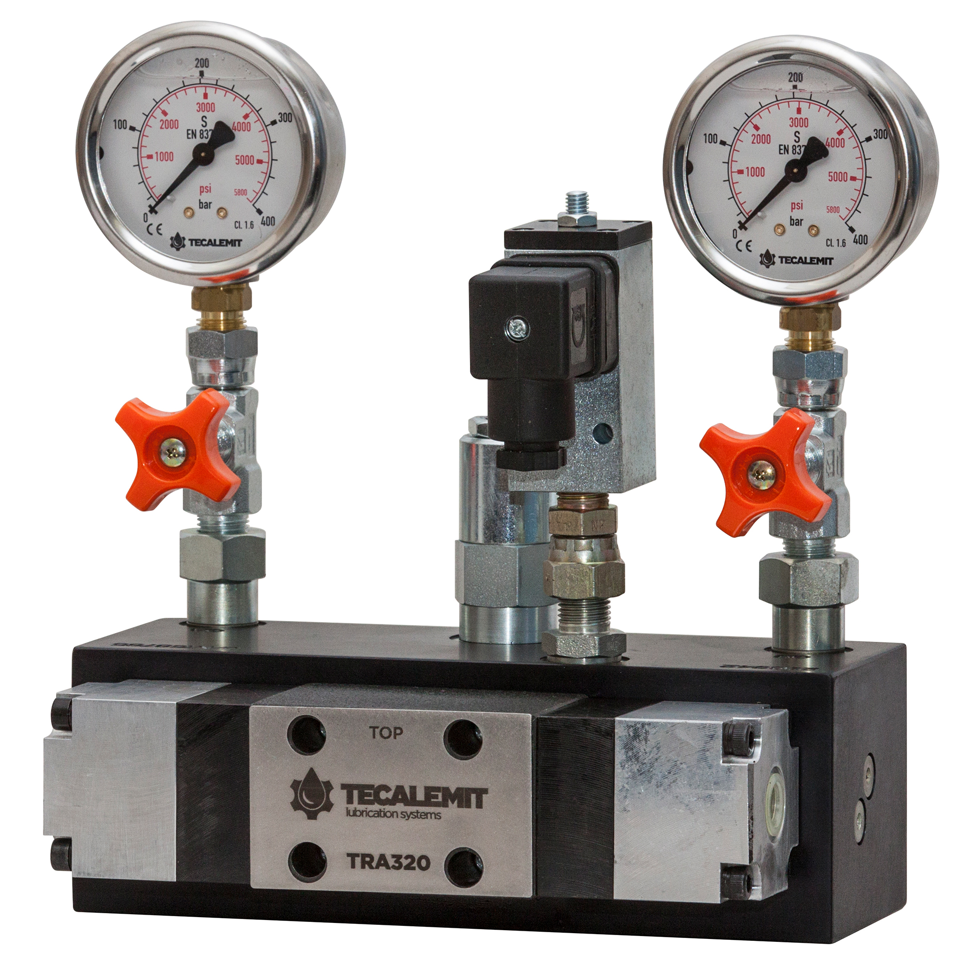 TRA320A.PS - Air Operated Dual Line Grease Reversing Valve