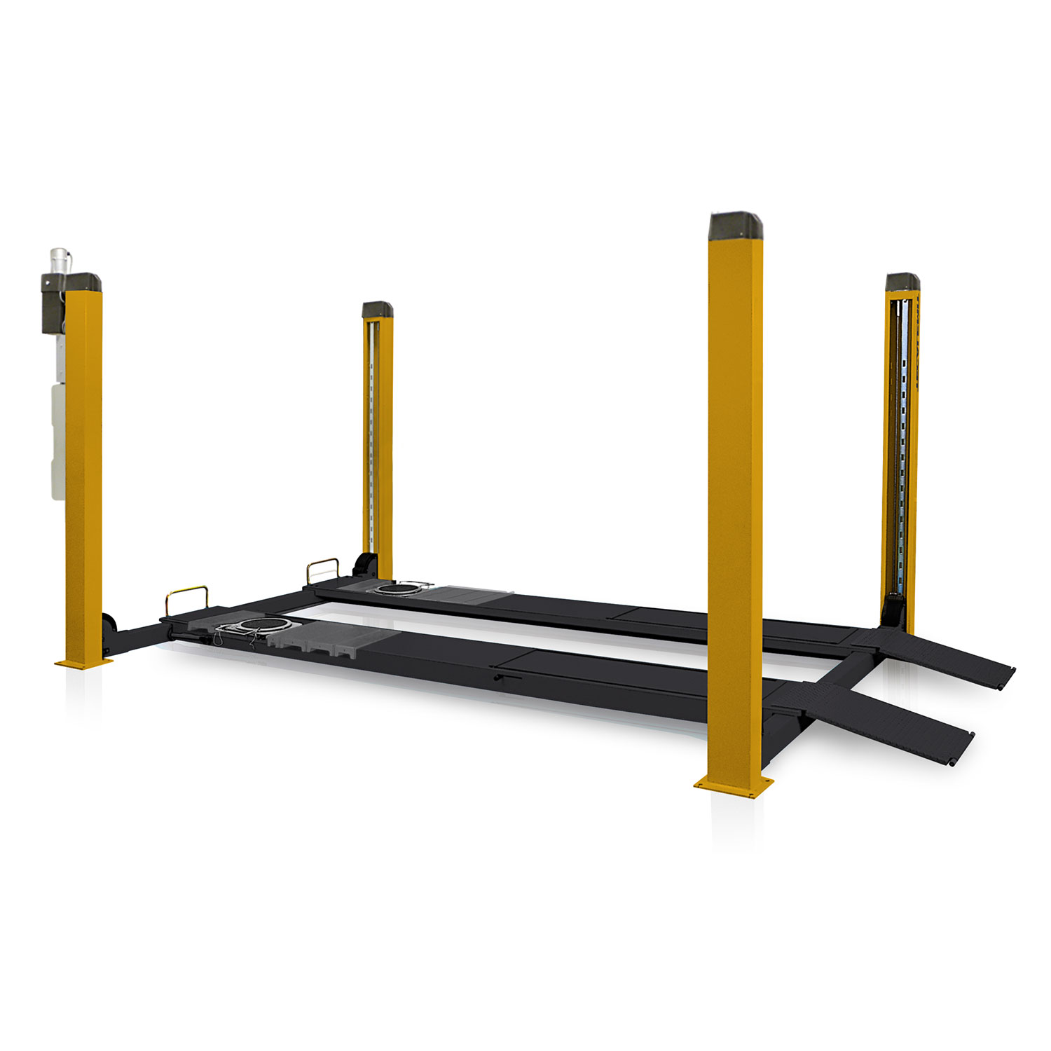 TECG440W - 4 Tonne 4 Post Wheel Alignment Hoist