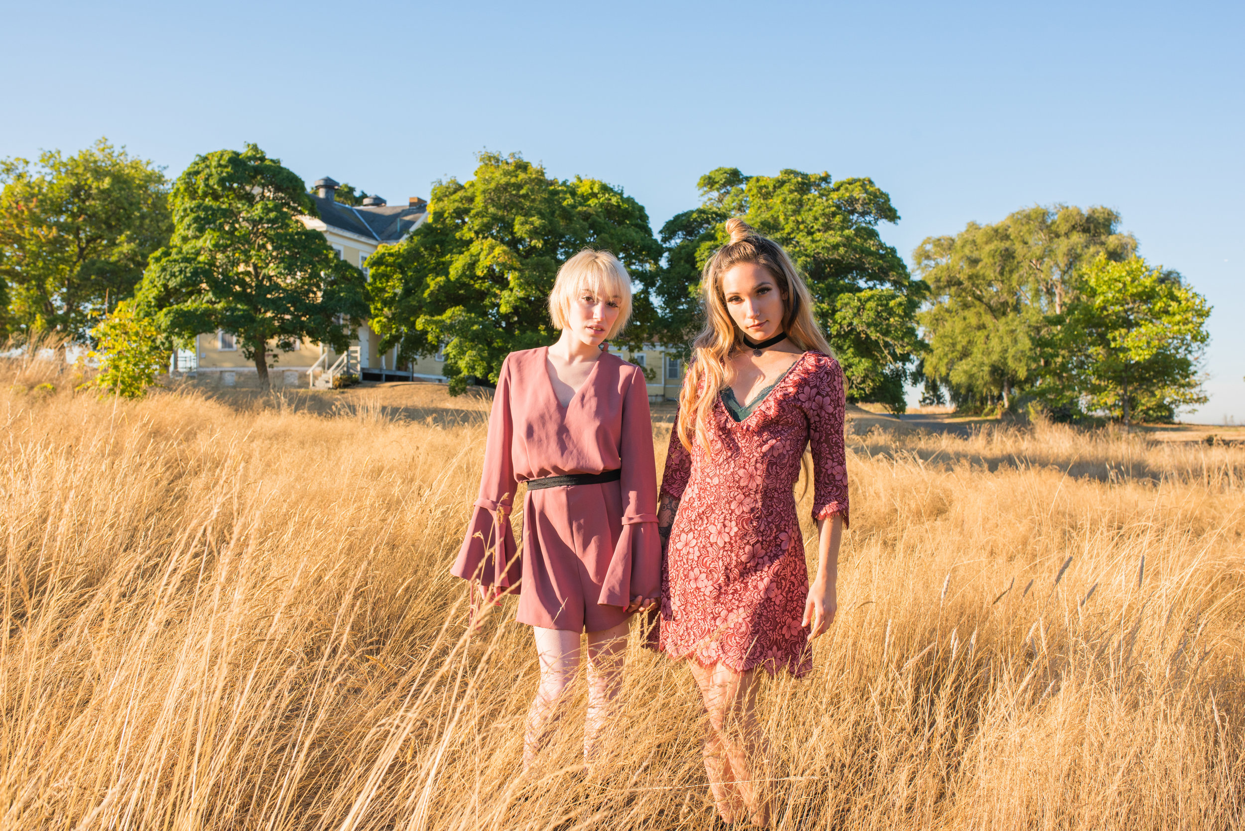 Annabelle Sussman and Jamie Holien - Itzel Luccas Photography - Discovery Park - Indie Fashion - Boho Fashion - For Love and Lemons and Top Shop - 52 - Small File_.JPG