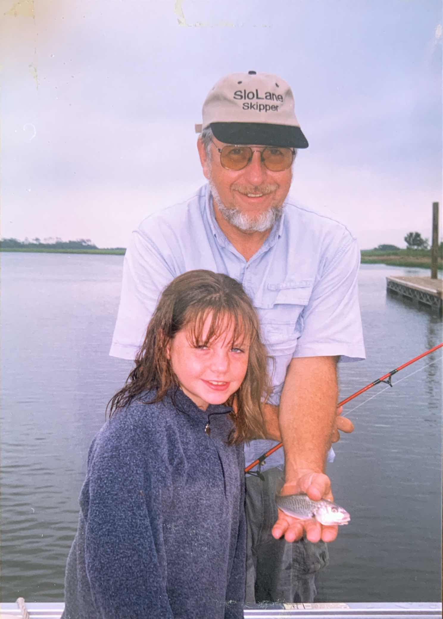 Bitsy on a trip to Bald Head Island a few months before her death, 1999