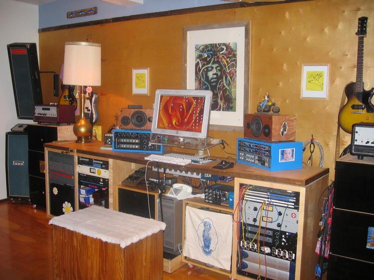 Clifford's home studio