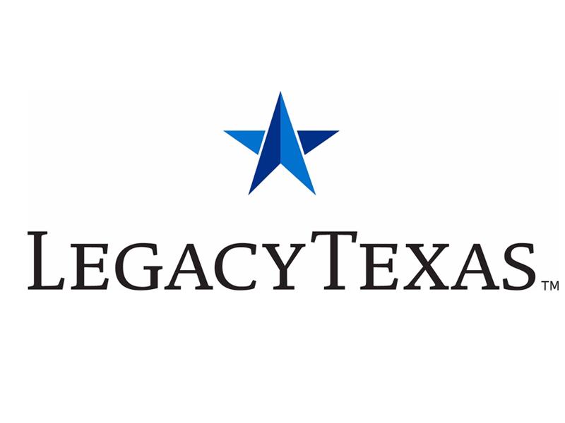 Sponsor LegacyTexas Bank