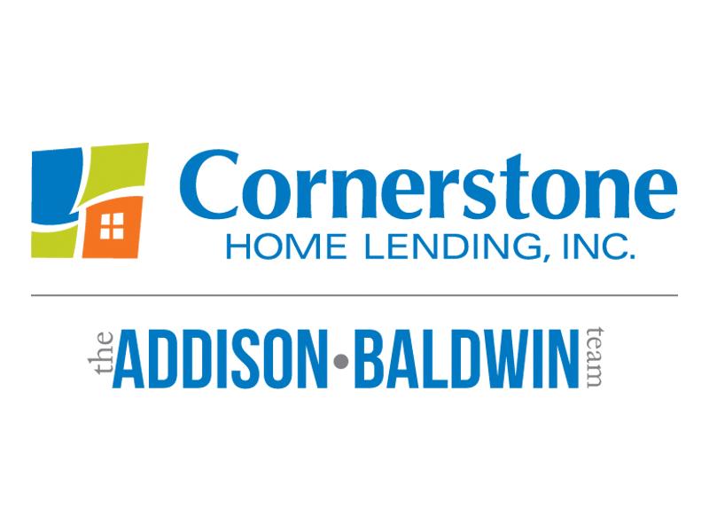 Sponsor Cornerstone Home Lending Addison Baldwin