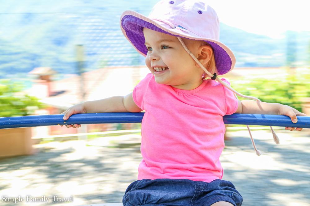 The playground was thoroughly enjoyed.