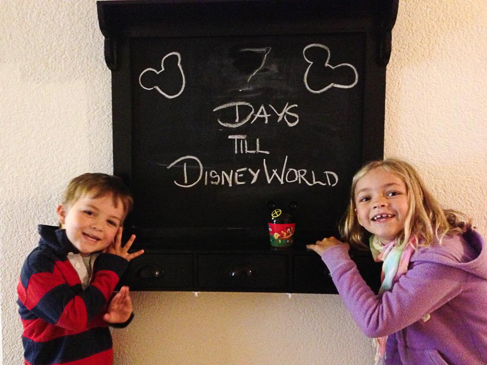 Our Disney countdown