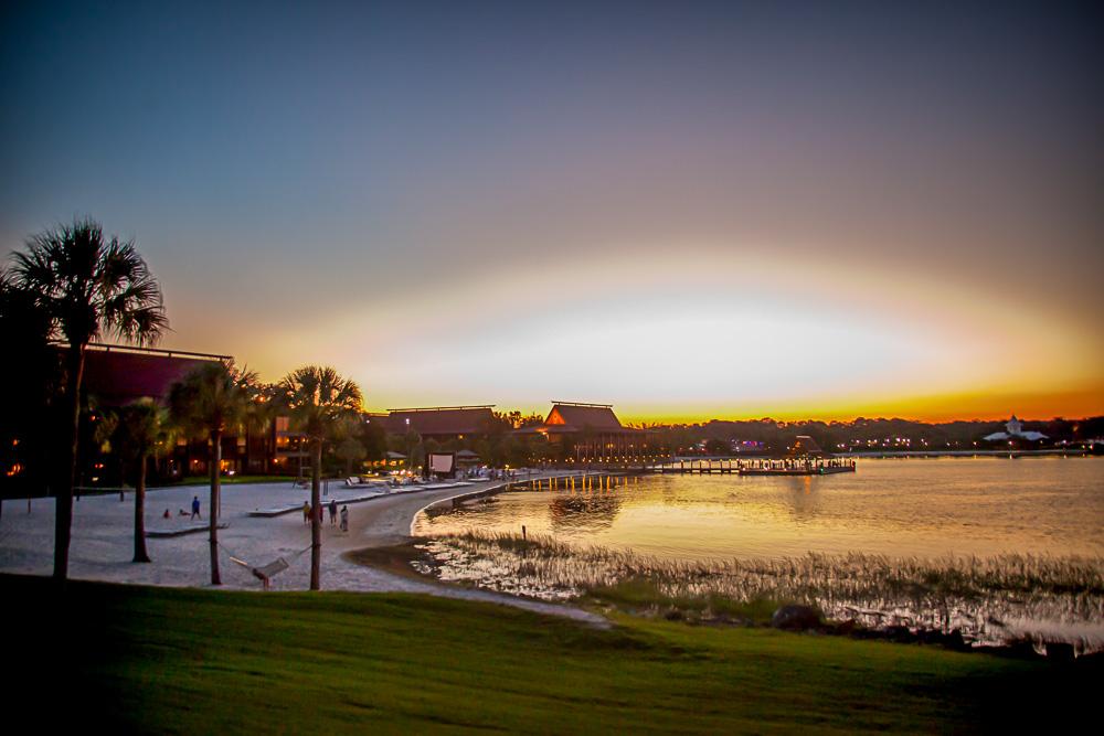 The beautiful Disney World Polynesian Resort - we wish we had spent more time here