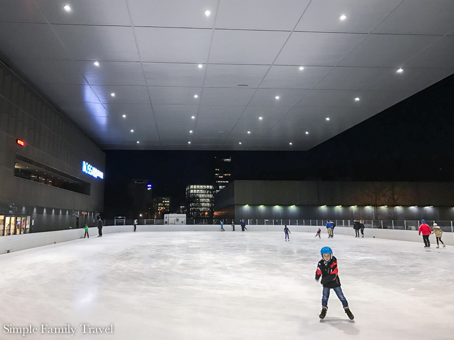 Simple Family Travel: Ice Skating Bossard Arena