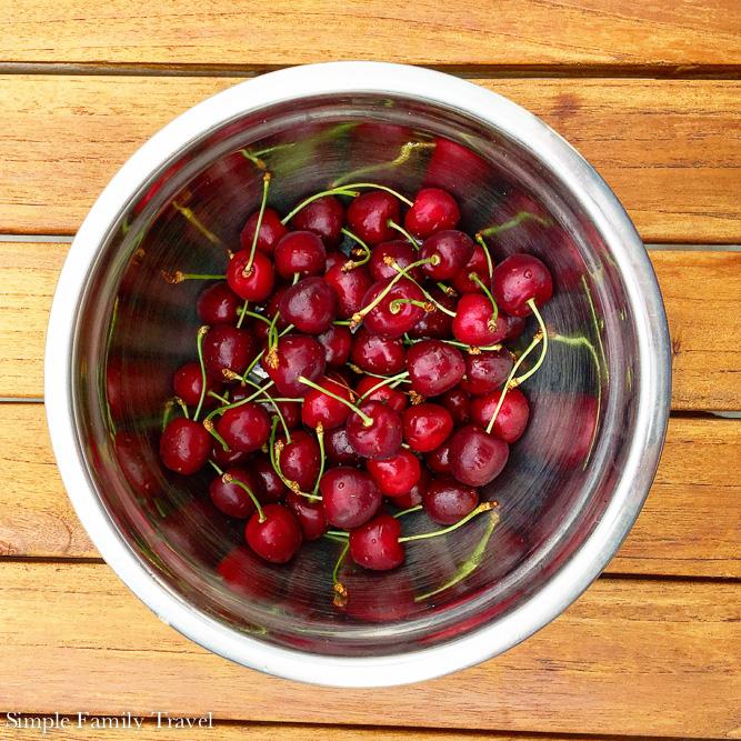 Simple Family Travel Cherries