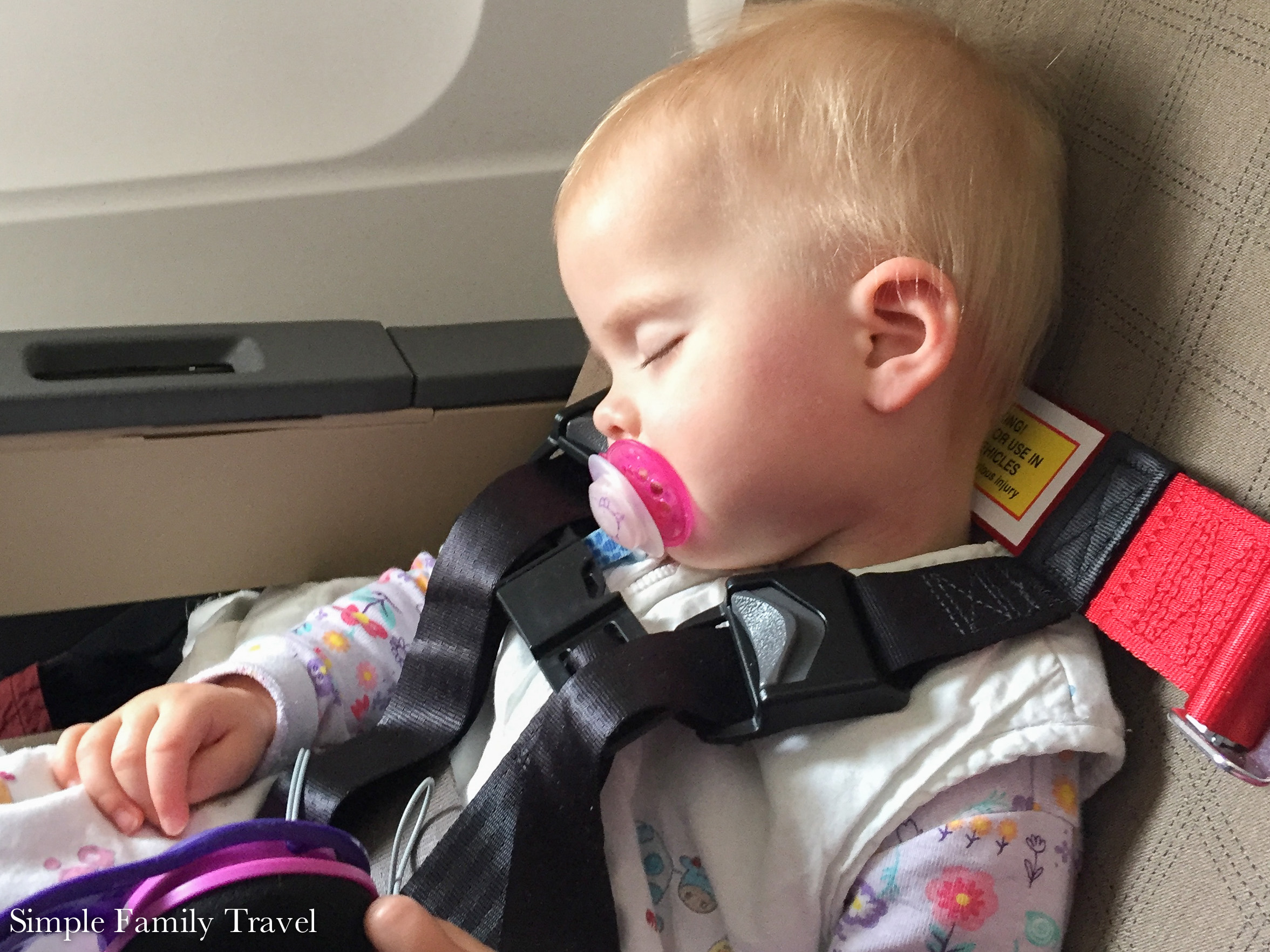 Getting them to sleep when traveling can be nerve wracking.