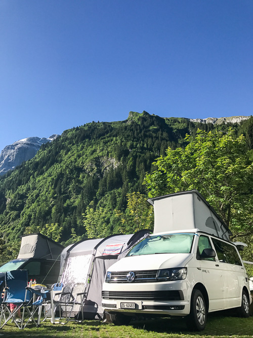 VW California Beach Review — Switzerland with kids | Swiss