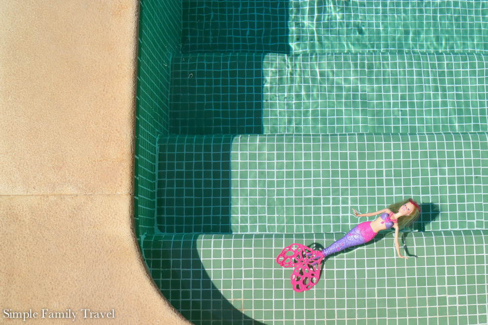 Dreaming of sunny days by the pool.