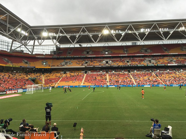 Sports Fans? Check out one of the many sports teams that play at Suncorp Stadium.