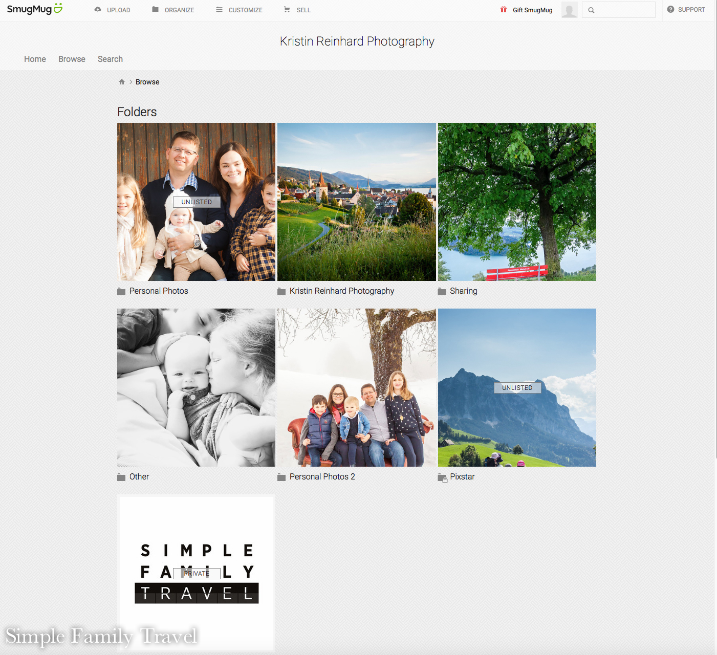How I use SmugMug to organize all my photos — Switzerland