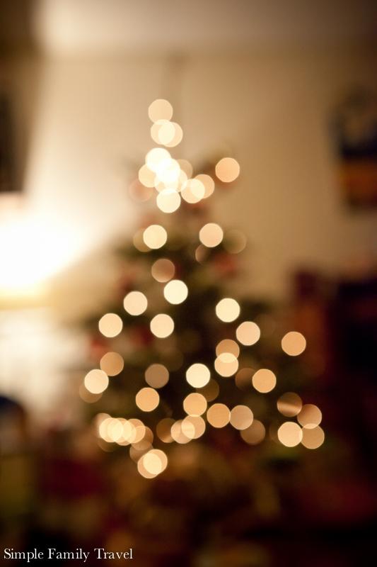 Simple Family Travel Swiss Christmas Tree