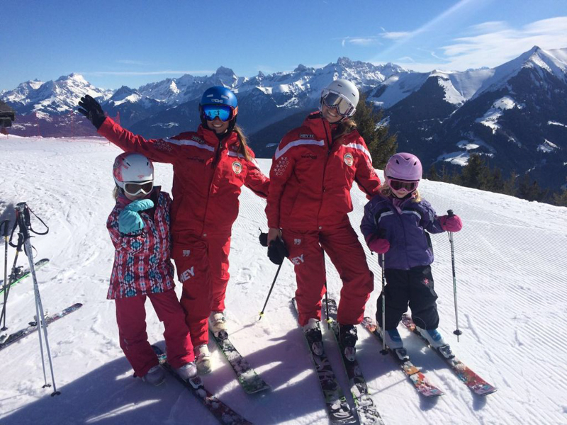 Photo supplied by Bret Marshall of Morgins Snowsports
