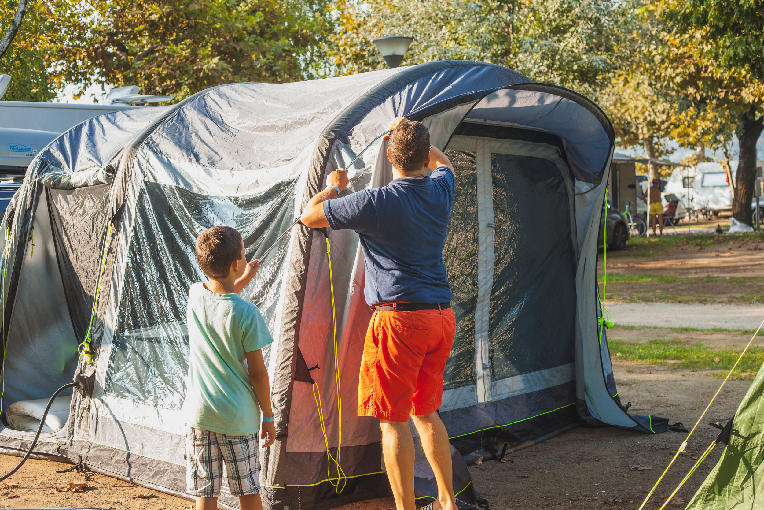 Content creation for Outwell Camping -
