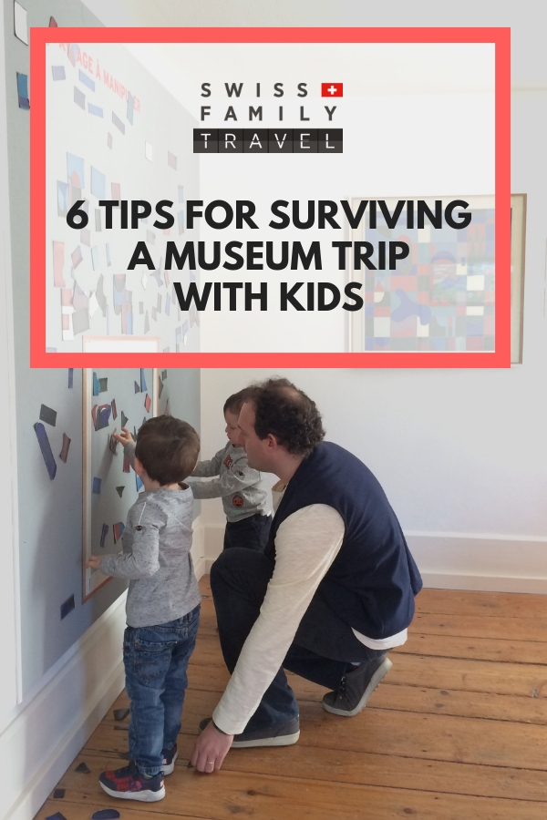 Visiting a museum with kids doesn't need to be painful