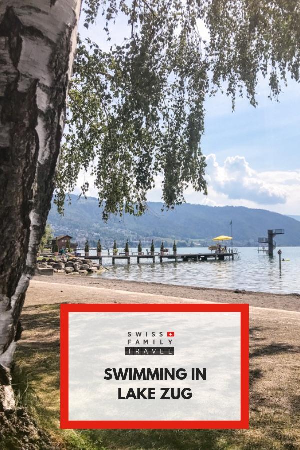 Badi Zug - Strandbad Zug - Where to swim in Zug?