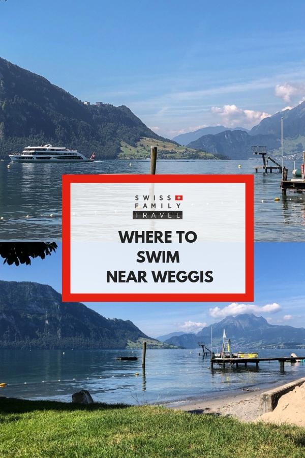 Where to swim near Weggis