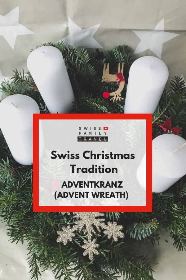 Swiss Advent Wreath, Switzerland Christmas Traditions