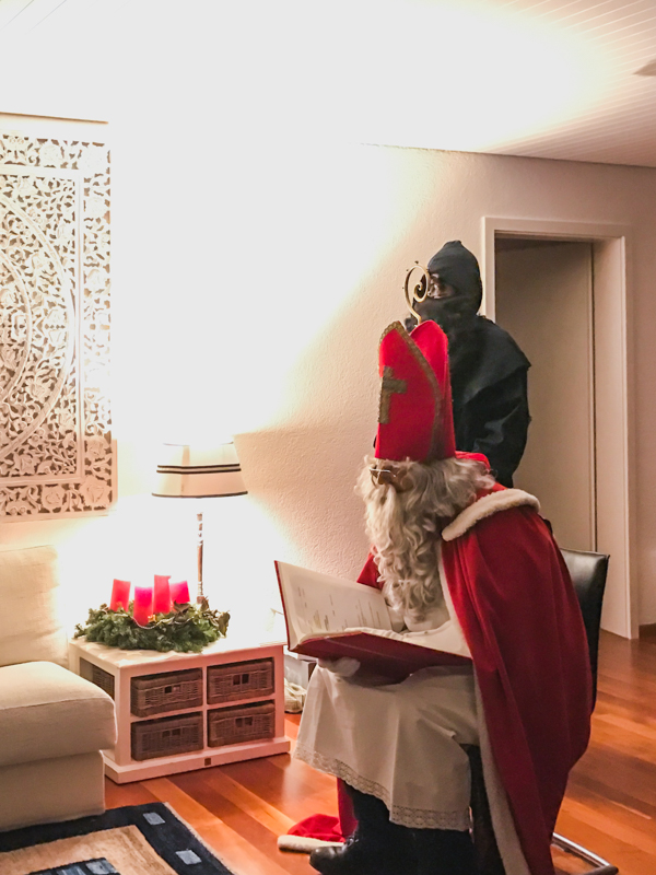 A visit by the Swiss Samichlaus
