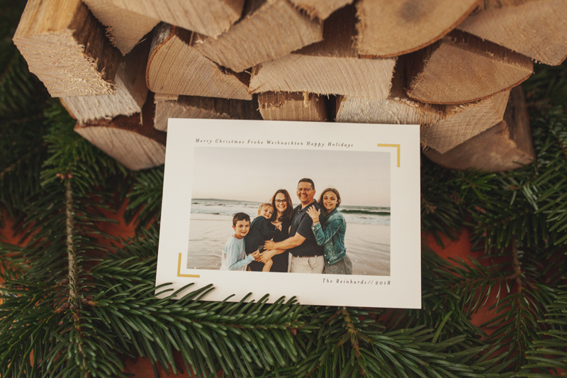 Sending a Christmas Card with a photo on it isn't a traditional here in Switzerland, but it is becoming more poplar.