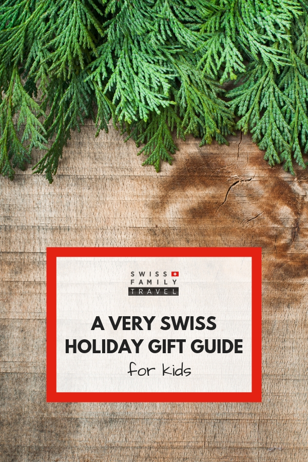 A swiss gift guide just for kids.