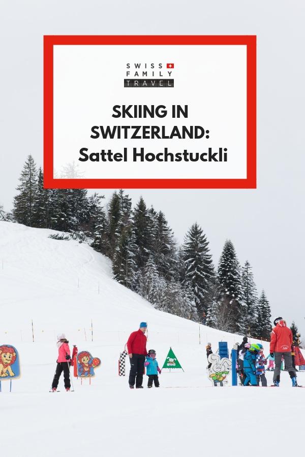 Where to learn to ski near Zug, Switzerland? Hoch Stuckli!