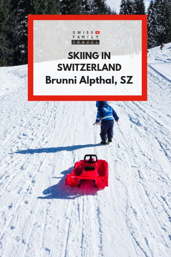 Where to ski as a family in Switzerland? Try Brunni Alpthal in Schwyz, the perfect place to learn.