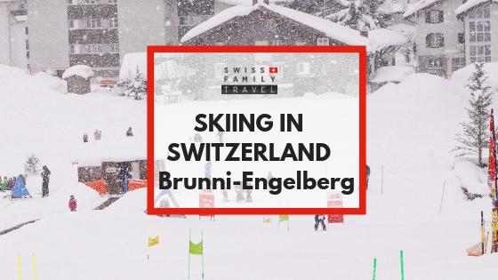 Family Friendly skiing in Switzerland at Brunni, Engelberg