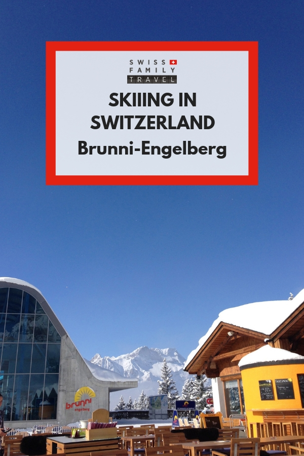 Where to ski with kids near Luzern? Brunni in Engelberg is a great option.