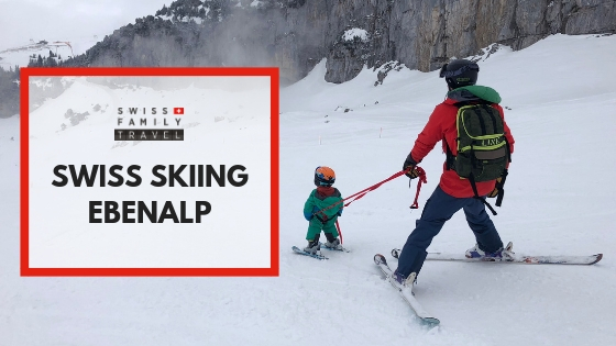 Ebenalp is a great place for kids to learn to ski in Switzerland