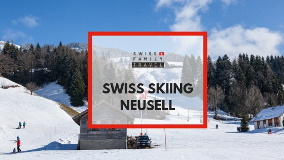 A smaller ski resort at a lower altitude is great for kids to learn to ski - try Neusell in Switzerland