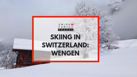 Skiing in Wengen with kids