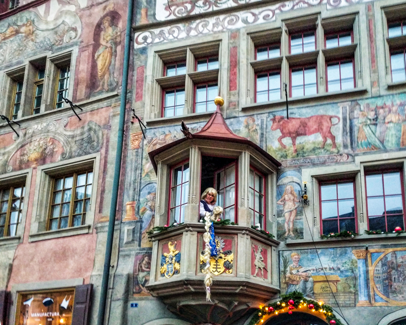 Stein am Rhein, one of the 16 places to visit in Switzerland with kids this year.