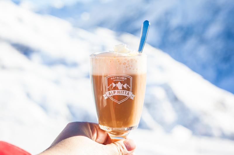 Enjoy a drink at Alphitta Nätschen, Andermatt