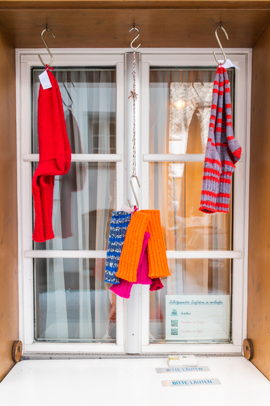 The Sock Window in Andermatt
