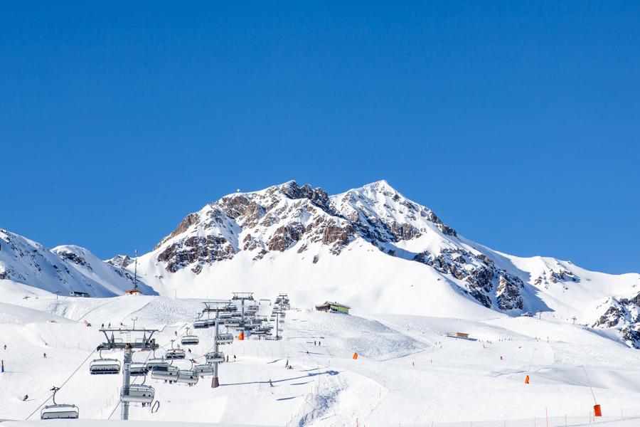 The ski area in Scuol/Motta Naluns - Swiss Family Travel