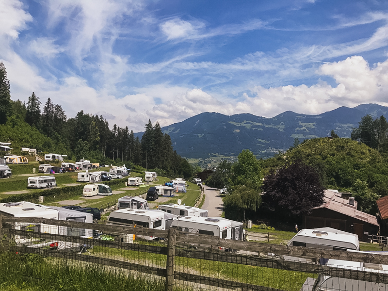 Swiss Family Camping visits Alpencamping Nenzing
