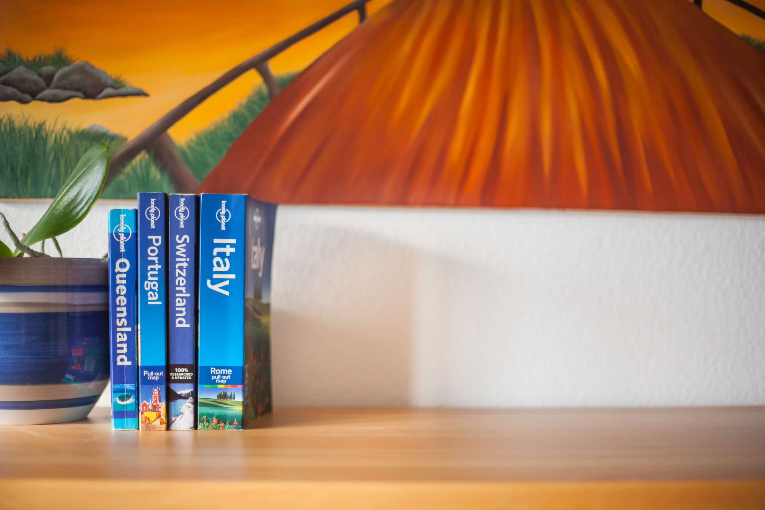 Use travel books and novels about your destination to get a good feel before you go.