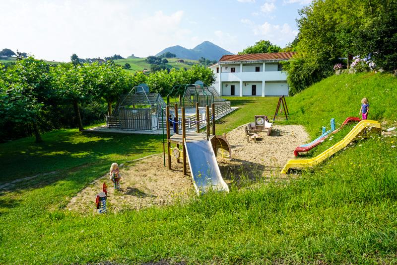 Playground at Campground Itxaspe review