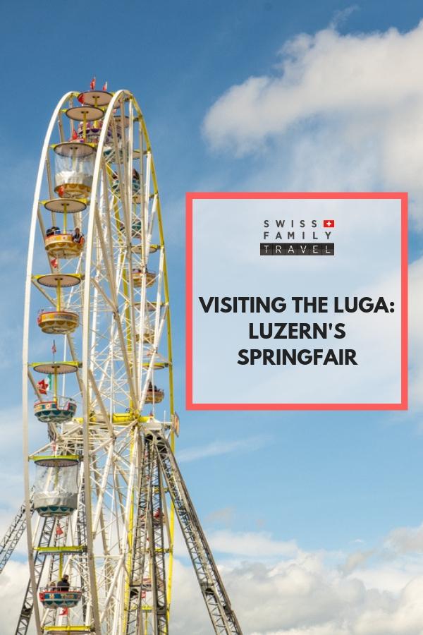 Visiting the LUGA, Luzern's spring fair