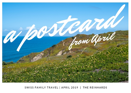 A postcard from April