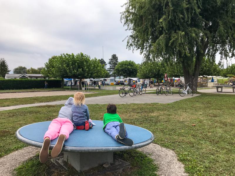 Camping in Switzerland: Les 3 Lacs Murten