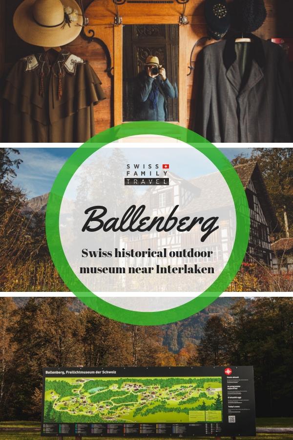 Ballenberg Family Activity near Interlaken