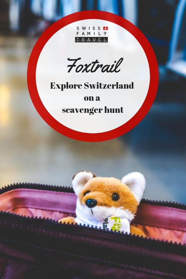 Foxtrail: Swiss style Scavenger Hunts