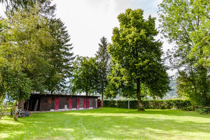 Camping Unterägeri, lakeside camping in Switzerland